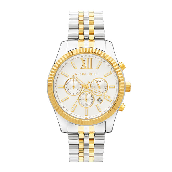 Michael Kors Lexington Chronograph Watch MK8344 - Front