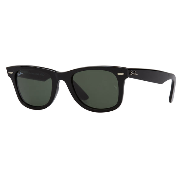 Ray-Ban Original Wayfarer RB2140 Black Sunglasses - Side