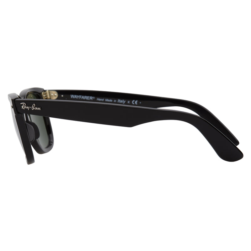 Ray-Ban Original Wayfarer RB2140 Black Sunglasses - Back