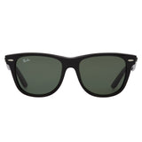 Ray-Ban Original Wayfarer RB2140 Large Black Sunglasses - Front