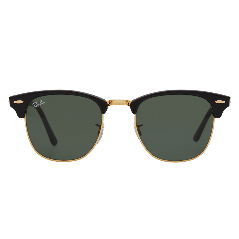 Ray-Ban Clubmaster RB3016 Sunglasses Black - Front