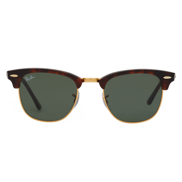 Ray-Ban Clubmaster RB3016 Tortoise Sunglasses - Front