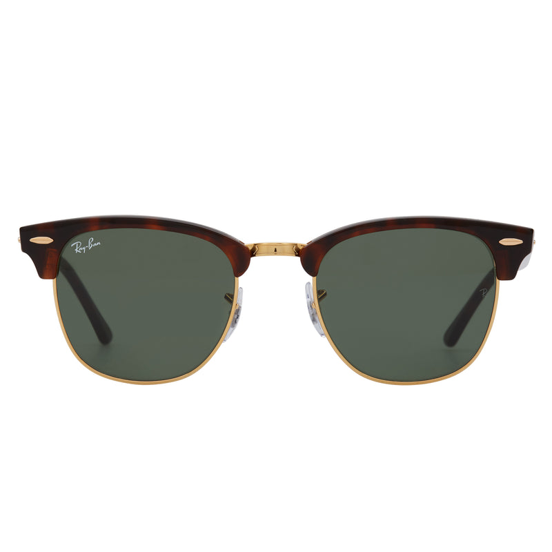 Ray-Ban Clubmaster RB3016 Sunglasses Tortoise - Front