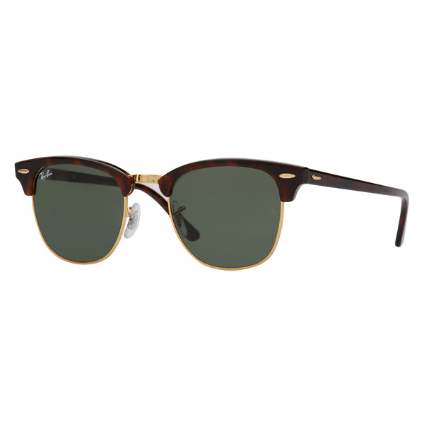 Ray-Ban Clubmaster RB3016 Sunglasses Tortoise - Angle