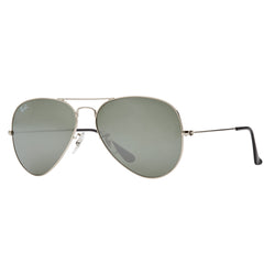 Ray-Ban Aviator Mirror RB3025 Sunglasses - Silver Angle