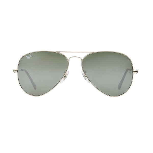 Ray-Ban Aviator Mirror RB3025 Sunglasses - Silver Front