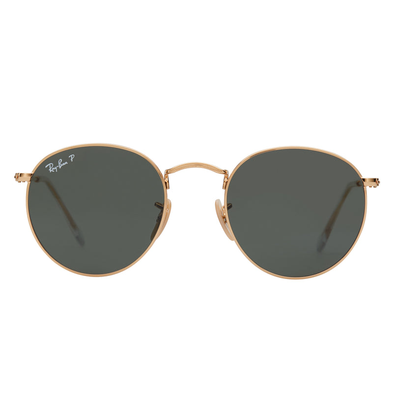 Ray-Ban Round RB3447 Polarised Sunglasses - Front