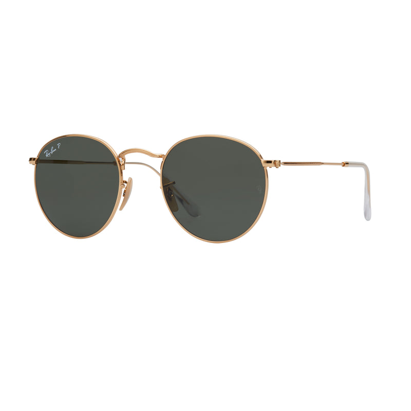 Ray-Ban Round RB3447 Polarised Sunglasses - Angle
