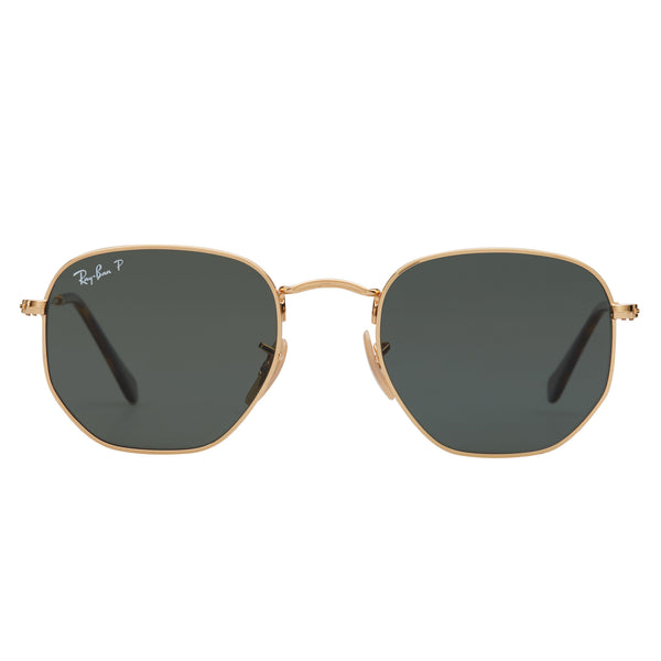 Ray-Ban Hexagonal RB3548N Polarised Sunglasses - Front