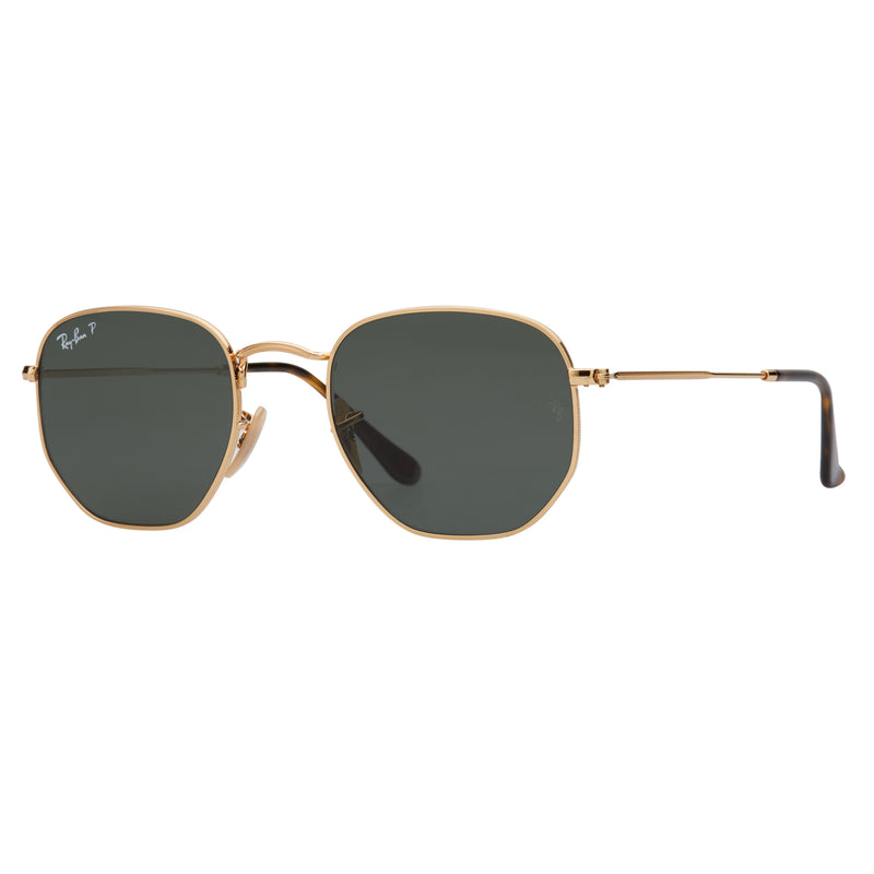 Ray-Ban Hexagonal RB3548N Polarised Sunglasses - Angle