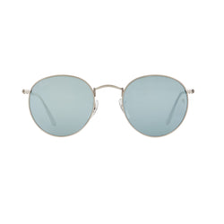 Ray-Ban Round Flash RB3447 Sunglasses - Silver Front