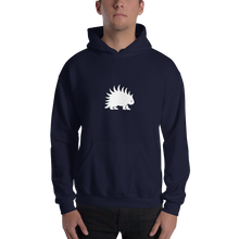Load image into Gallery viewer, Hooded Sweatshirt White Porcupine