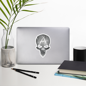 Skull Bubble-free sticker
