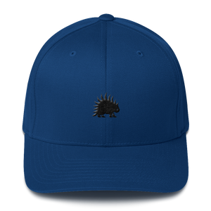 Structured Twill Cap - Porcupine 3d embroidery