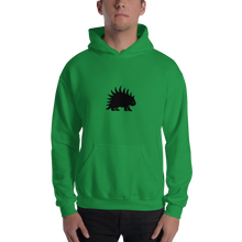 Load image into Gallery viewer, Hooded Sweatshirt Black porcupine