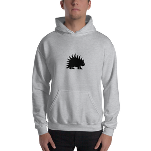 Hooded Sweatshirt Black porcupine