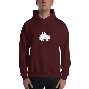 Hooded Sweatshirt White Porcupine