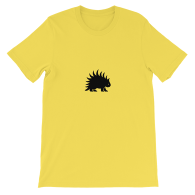 Porcupine Black - Short-Sleeve  T-Shirt - Unisex