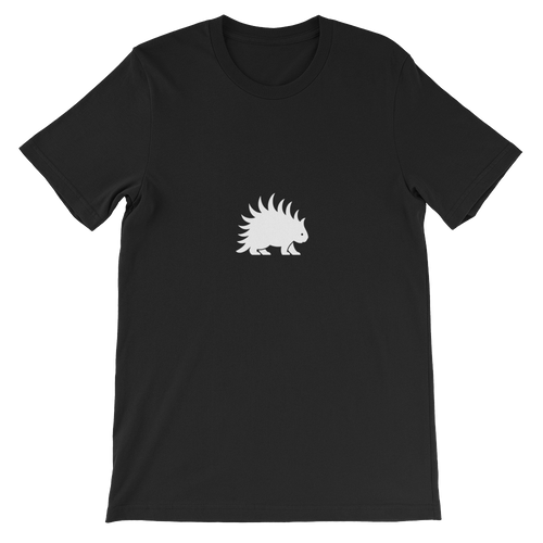 Porcupine White - Short-Sleeve  T-Shirt - Unisex