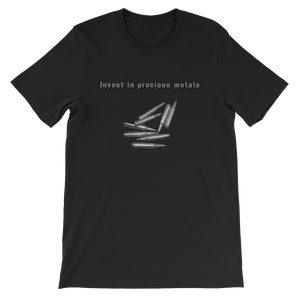 Invest in precious metals - Short-Sleeve T-Shirt - Unisex
