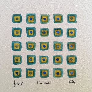 Quadriptych :: Liminal one, two, three & four
