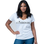 "Ladies ""Covered Girl"" V-Neck T-Shirt"