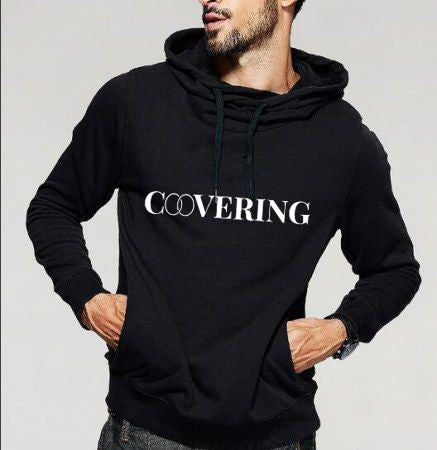 "Men's ""Covering"" Hooded Sweatshirt"