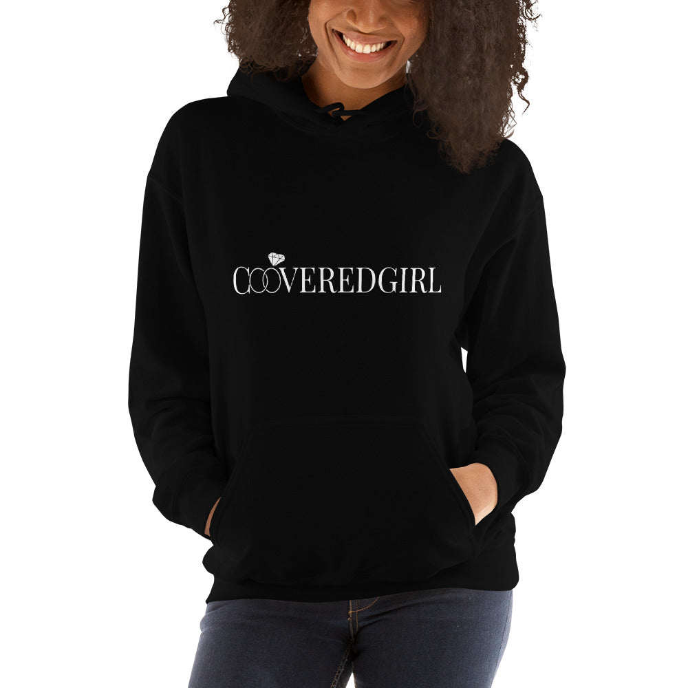 "Ladies ""Covered Girl"" Hooded Sweatshirt"
