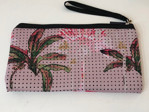 Limited Edition Gypsy Palm Pink Purse