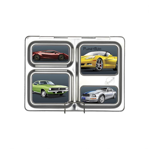 Cars Launch Lunchbox Magnets