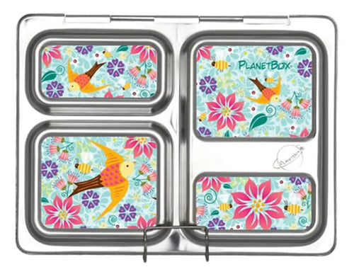 Floral Fun Launch Lunchbox Magnets