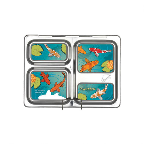 Lotus Launch Lunchbox Magnets
