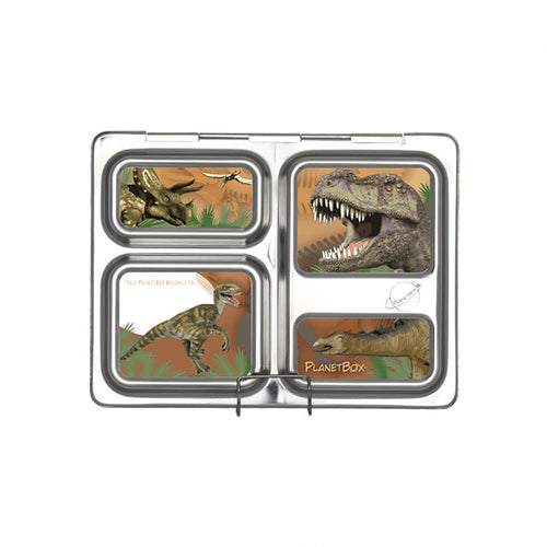 Velociraptor Launch Lunchbox Magnets