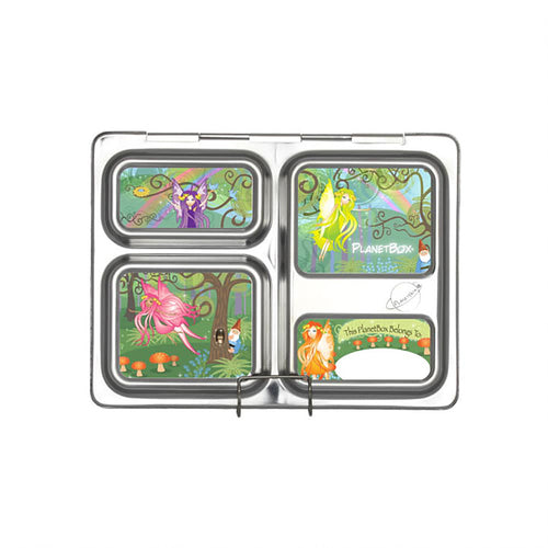 Woodland Fairies Rover Lunchbox Magnets