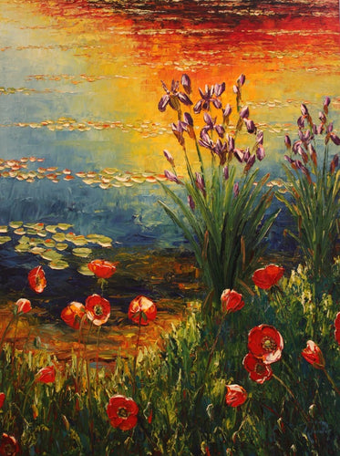 Poppies in the Late Light