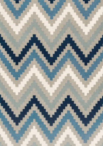 Scala Indigo Hand Tufted Wool Rug