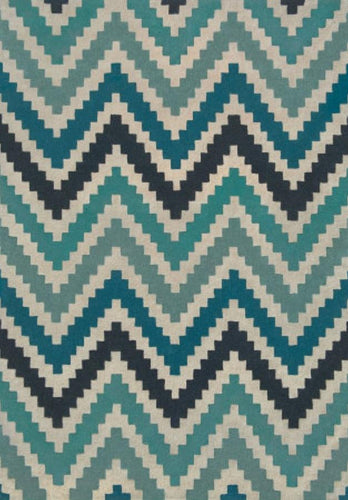 Scala Teal Hand Tufted Wool Rug