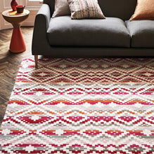 Load image into Gallery viewer, Takana Multi Flat Weave Chenille Rug