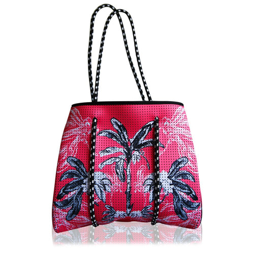 Limited Edition Coral Bungalow Reversible Tote Bag