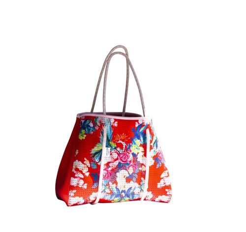 Limited Edition Fleur de Paradis Reversible Tote Bag