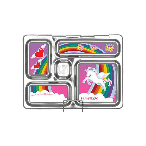 Rainbow Rover Lunchbox Magnets