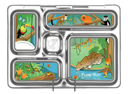 Rainforest Rover Lunchbox Magnets