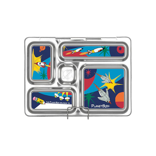 Rocket Rover Lunchbox Magnets