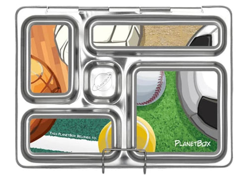 Sports Balls Rover Lunchbox Magnets