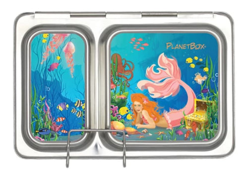 Mermaid Shuttle Lunchbox Magnets