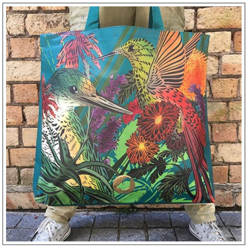 Flox Teal Eco Tote Bag