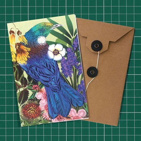 Flox Tui & Manuka Greeting Card