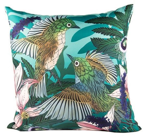 Flox Winged Waxeyes Outdoor Cushion Cover