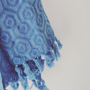 Natural Dye Indigo Blanket