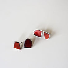 Jasper & Garnet & Silver Earrings BC